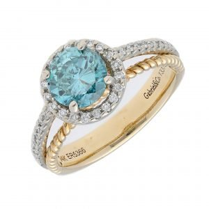 ring gabriel and co blue diamond   2
