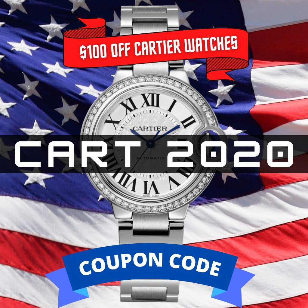 100 off CARTIER COUPON CODE Sarasota watch Company new years sale