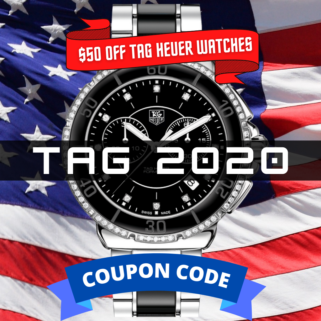 50off TAG HEUER COUPON CODE Sarasota watch Company new years sale