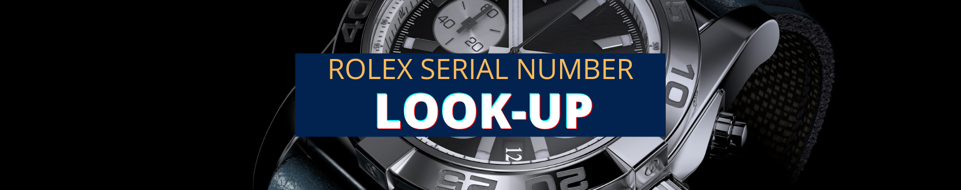 Rolex serial number look up search