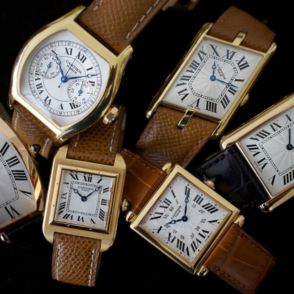 cartier watches up to 69% off discount sale