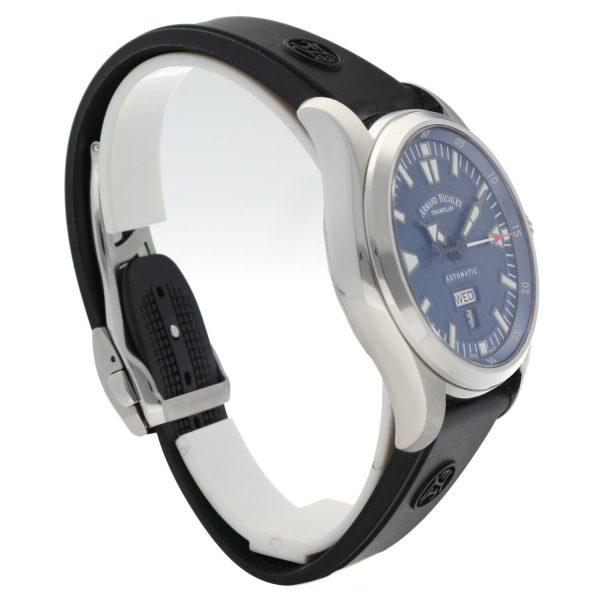 Armand Nicolet 9640M BU G9660 Stainless Steel 43mm Rubber Automatic Mens Watch 133804259650 3