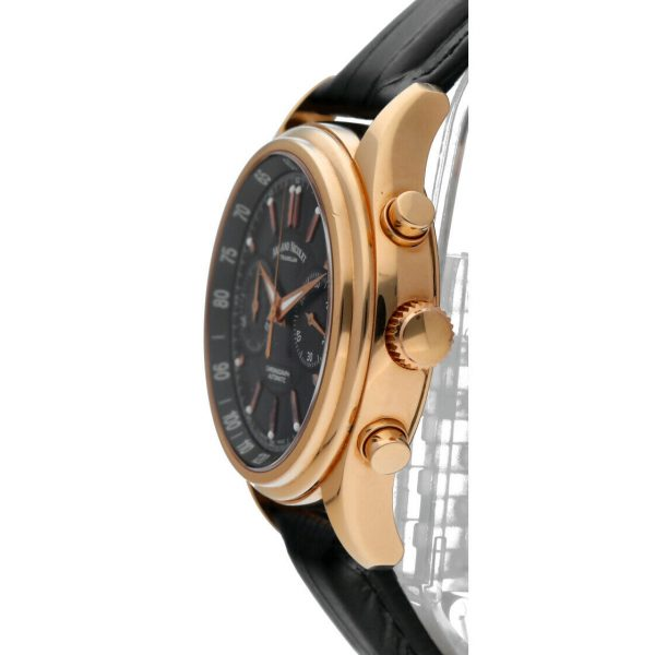 Armand Nicolet AN7144 A Chronograph 18k Solid Rose Gold Automatic Mens Watch 114827309830 3