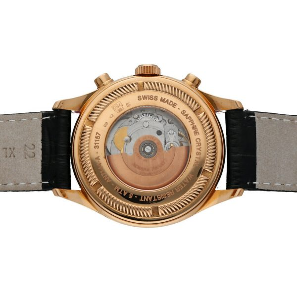 Armand Nicolet AN7144 A Chronograph 18k Solid Rose Gold Automatic Mens Watch 114827309830 8