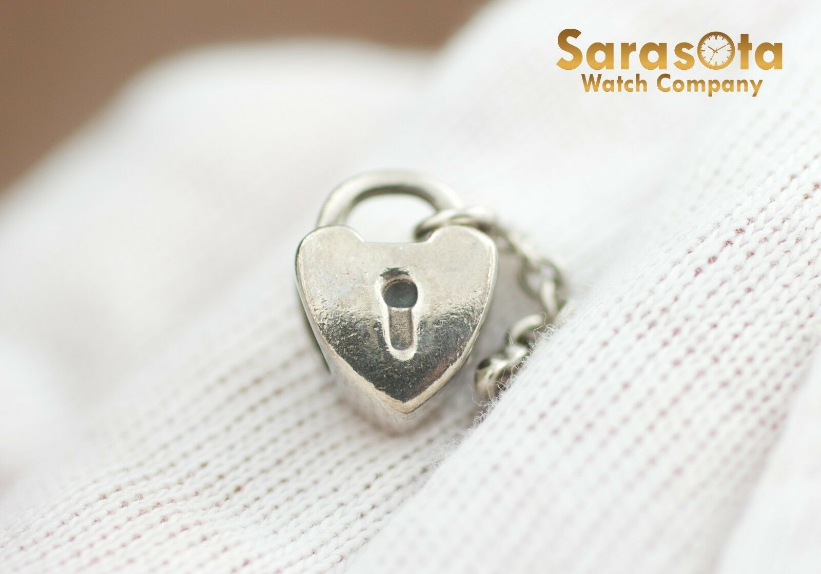 Authentic Pandora Sterling Silver 925 Key To My Heart Charm 122297103770 2