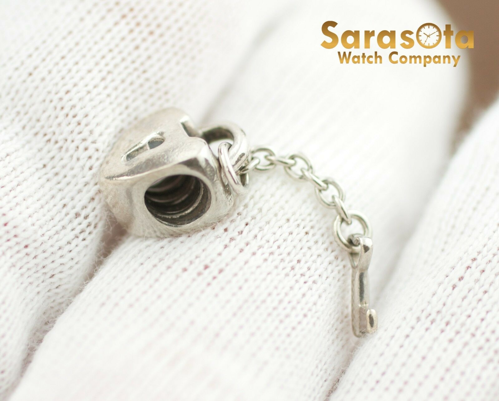 Authentic Pandora Sterling Silver 925 Key To My Heart Charm 122297103770 3