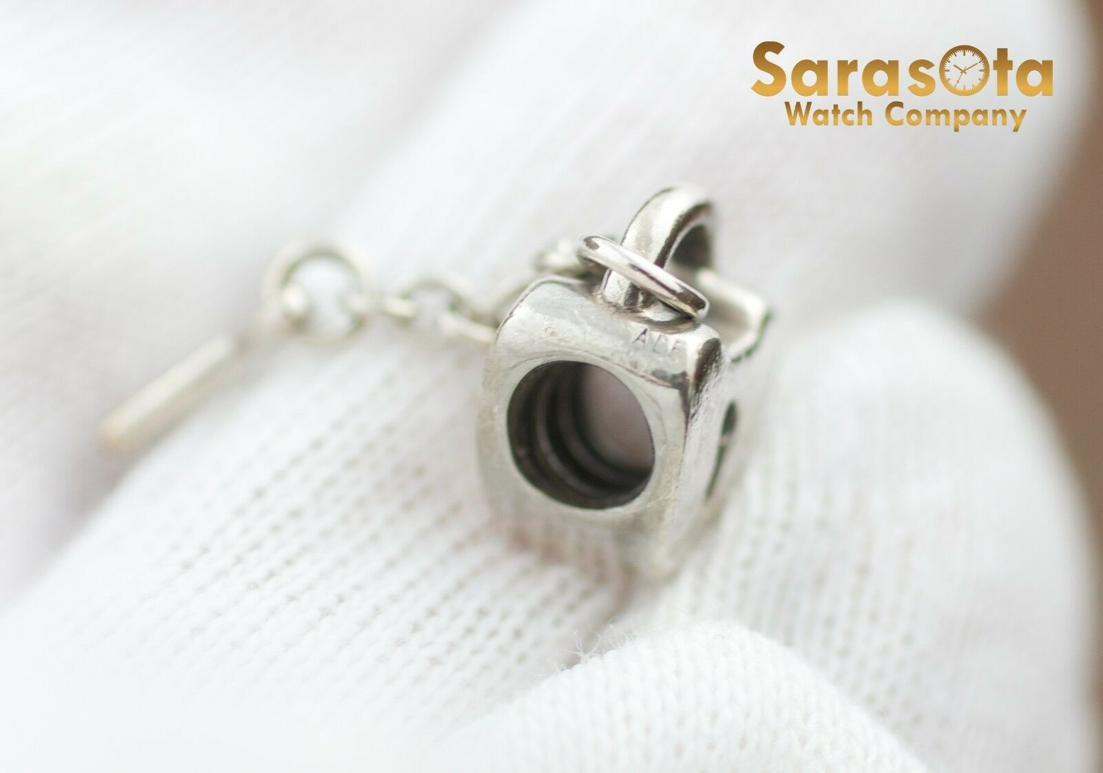 Authentic Pandora Sterling Silver 925 Key To My Heart Charm 122297103770 4