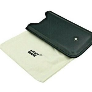 BRAND NEW MONTBLANC MEISTERSTUCK BLACK LEATHER CASE HOLDER POUCH IPHONE 5 133422887500