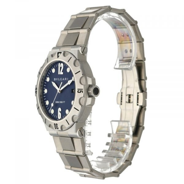 BVLGARI-Diagono-Scuba-DP-41-S-SD-Blue-Dial-Steel-41mm-Automatic-Mens-Watch-114712718740-2