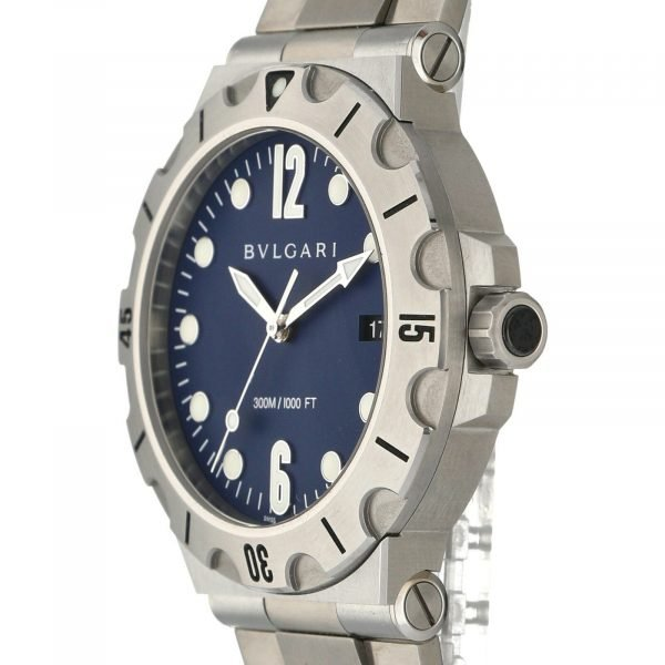 BVLGARI-Diagono-Scuba-DP-41-S-SD-Blue-Dial-Steel-41mm-Automatic-Mens-Watch-114712718740-3