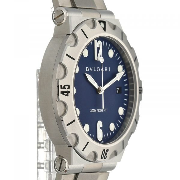 BVLGARI-Diagono-Scuba-DP-41-S-SD-Blue-Dial-Steel-41mm-Automatic-Mens-Watch-114712718740-4