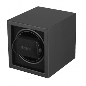 Benson Compact Series Leather Japanese Motor Adapter Battery Single Watch Winder 133627703390