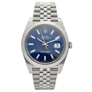 Brand New Rolex Datejust 126334 41mm Blue Dial Stainless Steel Auto Wrist Watch 124427802110
