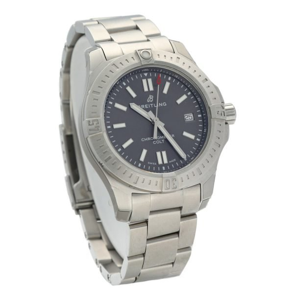 Breitling-A17313-Colt-Gray-Dial-Stainless-Steel-41mm-Automatic-Mens-Watch-133697249130-3