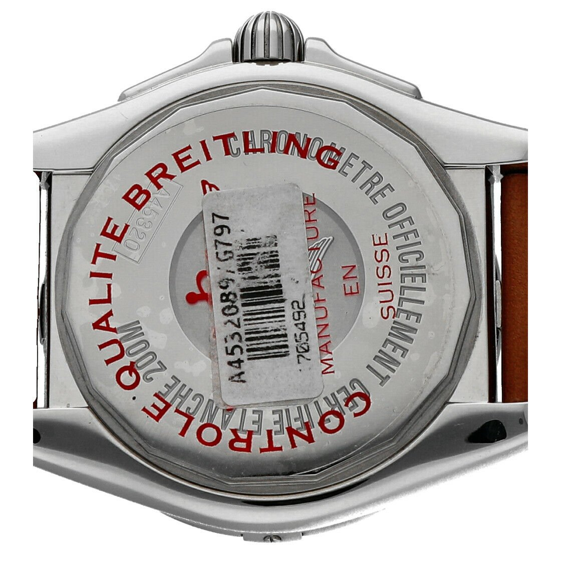 Breitling A45320 Galactic 44 Silver Dial Stainless Steel Automatic Mens Watch 114160975370 5