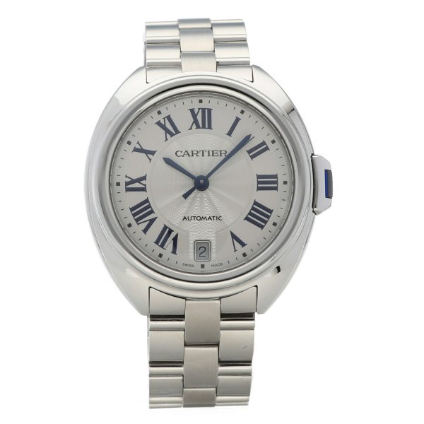 Cartier Cle De WSCL0006 3856 Stainless Steel 36mm Automatic Womens Watch 133785679630