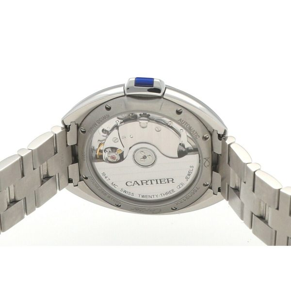 Cartier Cle De WSCL0006 3856 Stainless Steel 36mm Automatic Womens Watch 133785679630 7