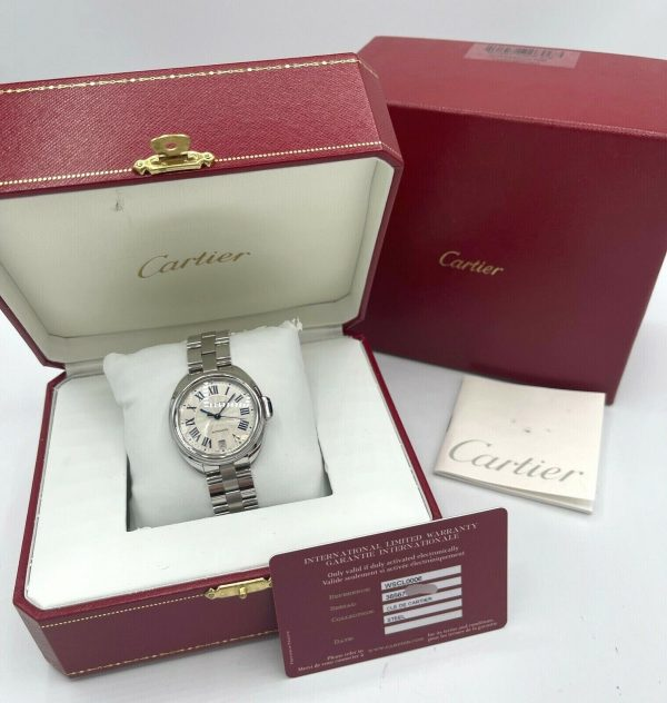 Cartier Cle De WSCL0006 3856 Stainless Steel 36mm Automatic Womens Watch 133785679630 8