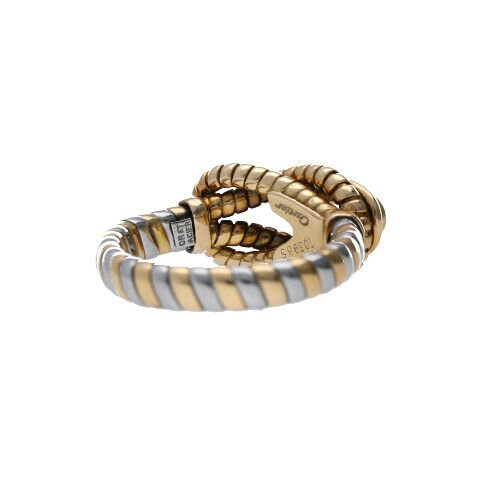 Cartier Hercules Knot Citrine 750 Yellow Gold Stainless Steel 65 Ladies Ring 122854524430 4