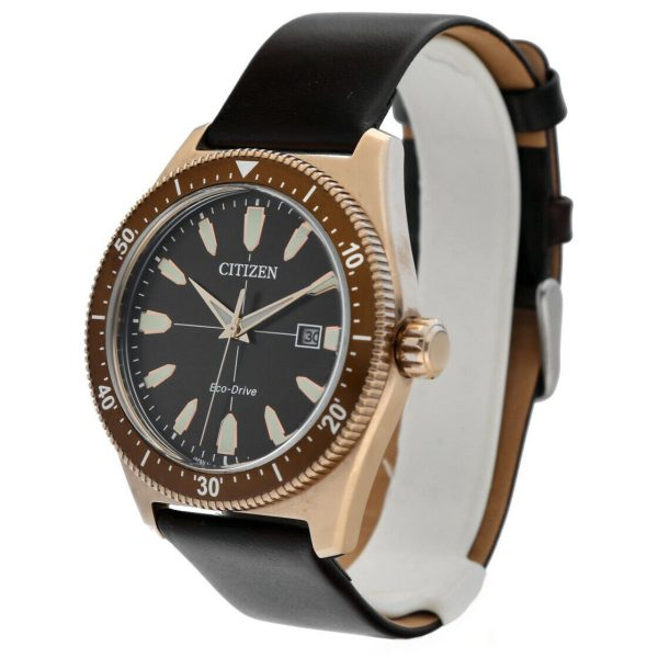 Citizen-Eco-Drive-Brycen-AW1593-06X-Rose-Gold-43mm-Leather-Solar-Mens-Watch-114748620590-2