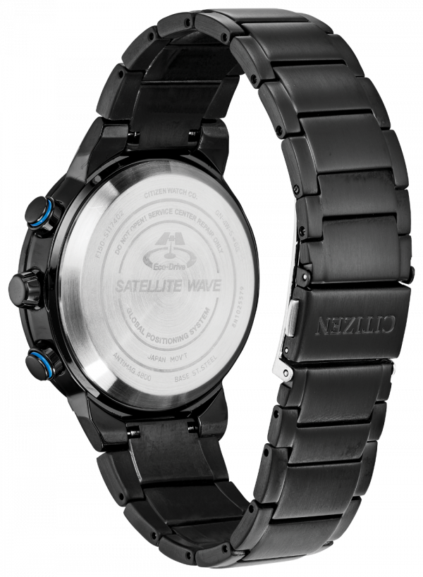 Citizen Eco Drive CC3038 51E Satellite Wave GPS Freedom Black 44mm Mens Watch 114507109830 2