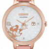 Citizen Eco Drive Minnie Mouse EW2448 01W Rose Gold Pink Blush Ladies Watch 114507188250