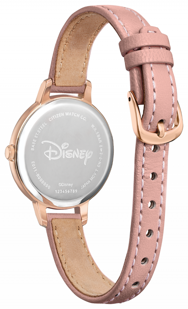 Citizen Eco Drive Minnie Mouse EW2448 01W Rose Gold Pink Blush Ladies Watch 114507188250 2