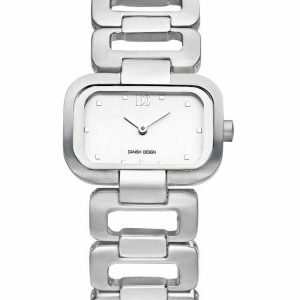 Danish Design IV62Q942 White Dial Titanium Quartz Classic Womens Watch 132011630300