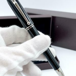 Dunhill Black Lacquer Mechanical Pencil 07HB Eraser 55 Factory Box Refill 124228086410