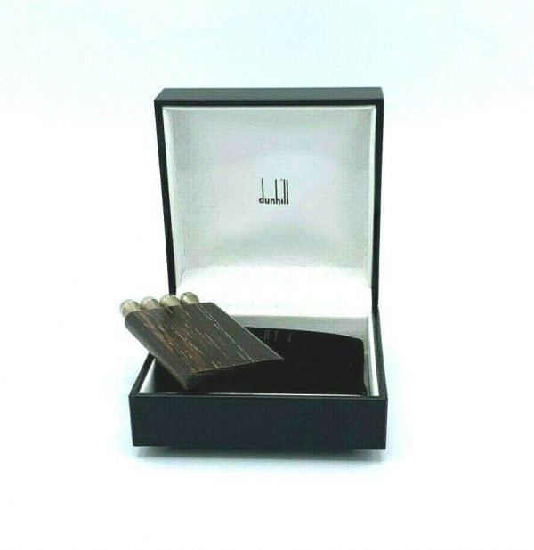 Dunhill JT4711K Four Golf Tee Set Wood Casing 925 Sterling Silver Gift 123809203090