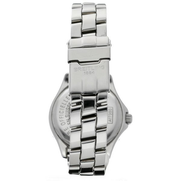 Breitling A17350 Colt Black Dial Stainless Steel 38mm Automatic Mens Watch 124226363351 4
