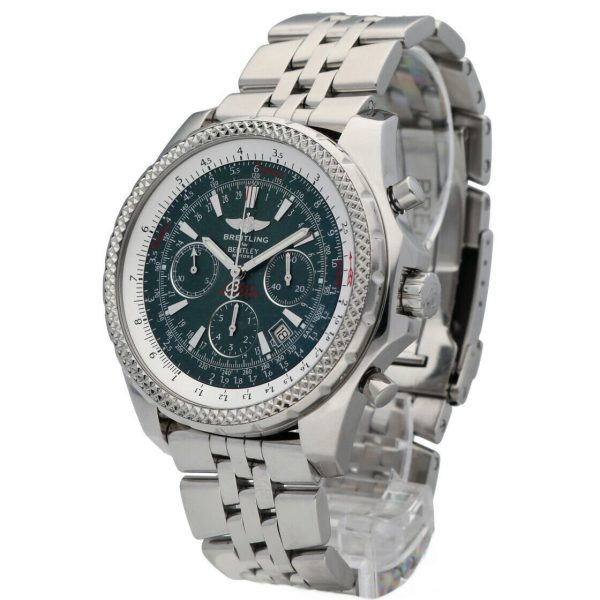 Breitling A25362 Bentley Green Dial 48mm Chrono Steel Automatic Mens Watch 133574055181 3