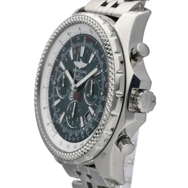 Breitling A25362 Bentley Green Dial 48mm Chrono Steel Automatic Mens Watch 133574055181 4