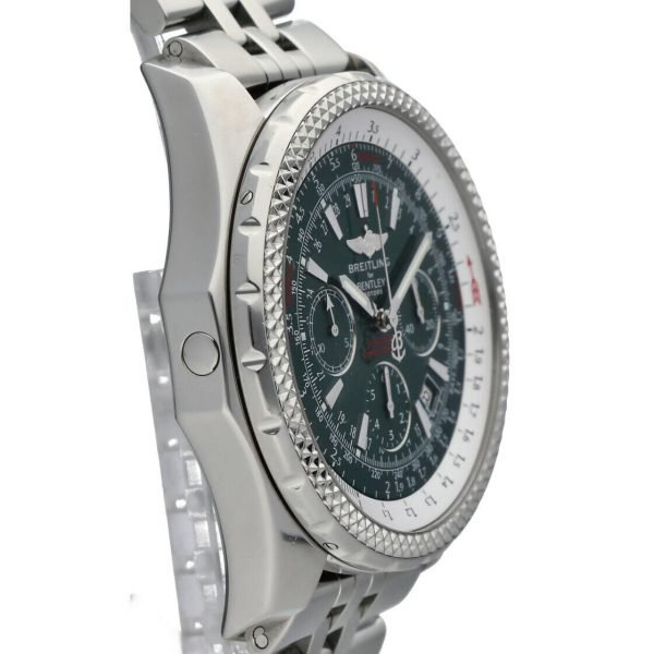 Breitling A25362 Bentley Green Dial 48mm Chrono Steel Automatic Mens Watch 133574055181 5