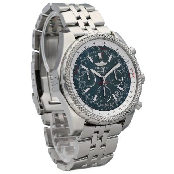 Breitling A25362 Bentley Green Dial 48mm Chrono Steel Automatic Mens Watch 133574055181 6