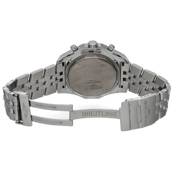 Breitling A25362 Bentley Green Dial 48mm Chrono Steel Automatic Mens Watch 133574055181 8