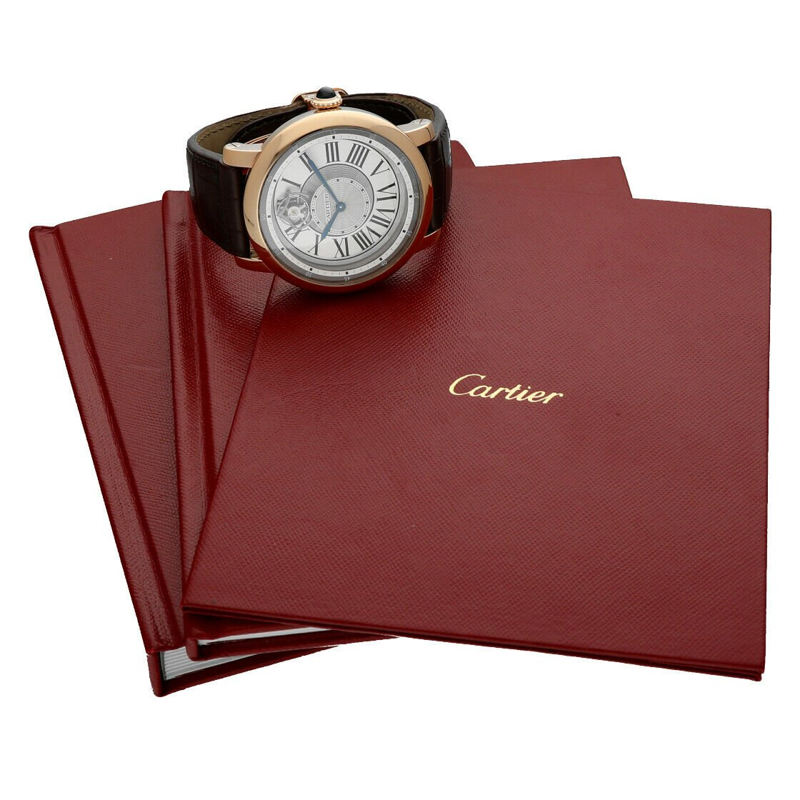 Cartier 3308 W1556205 Rotonde Astrotourbillon 18k Rose Gold Limited Mens Watch 124243384081 10