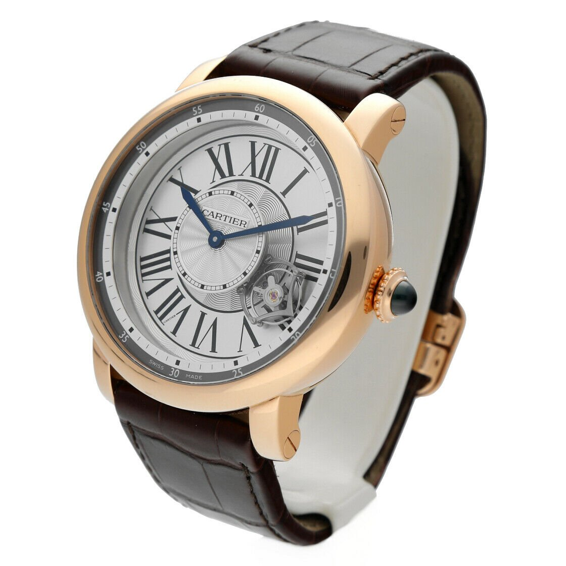 Cartier 3308 W1556205 Rotonde Astrotourbillon 18k Rose Gold Limited Mens Watch 124243384081 2