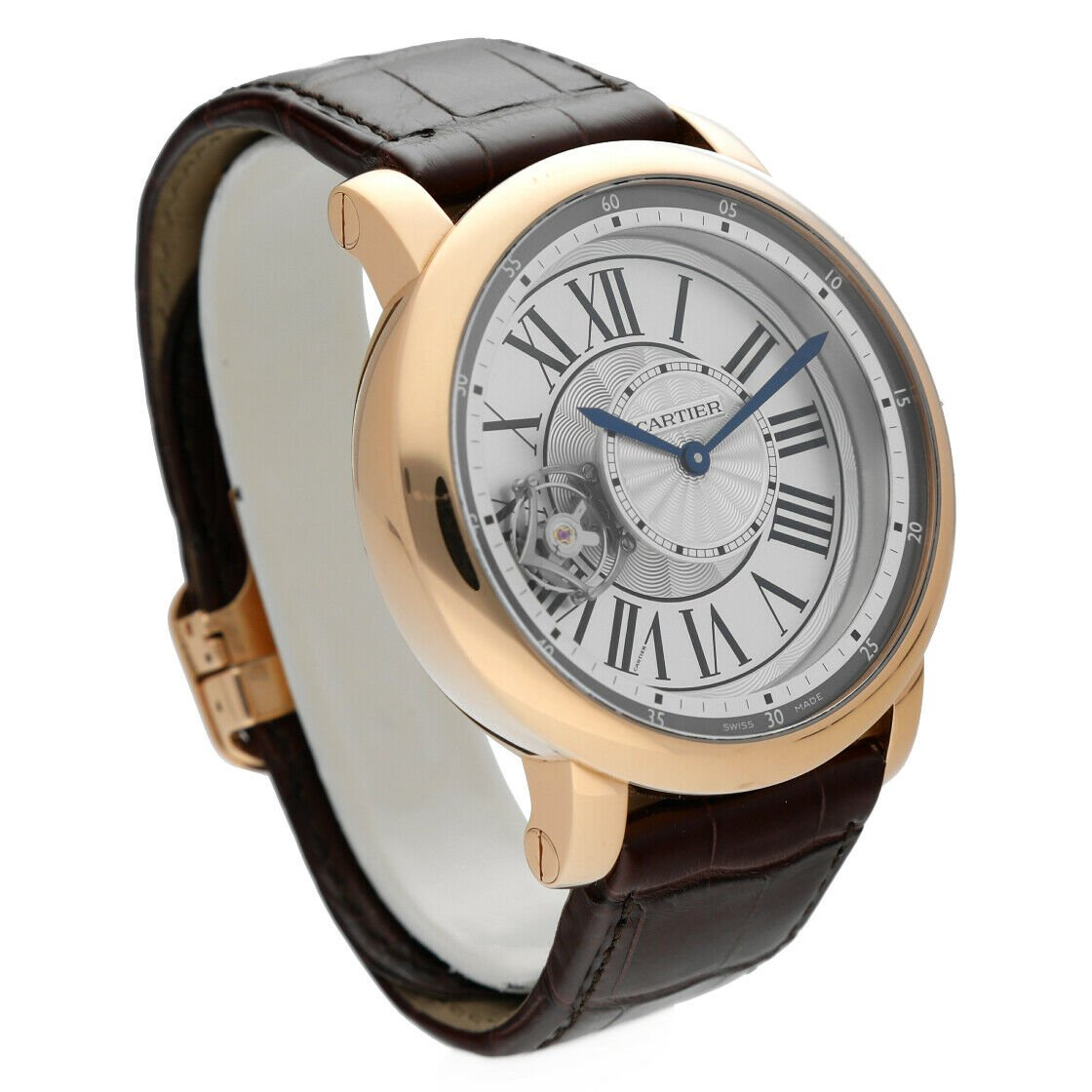 Cartier 3308 W1556205 Rotonde Astrotourbillon 18k Rose Gold Limited Mens Watch 124243384081 4