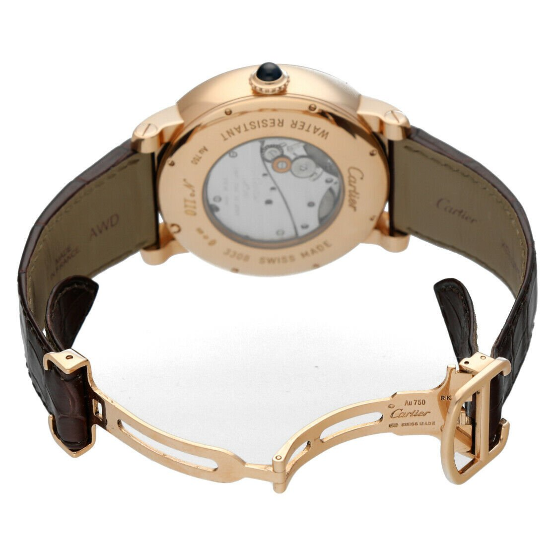 Cartier 3308 W1556205 Rotonde Astrotourbillon 18k Rose Gold Limited Mens Watch 124243384081 6