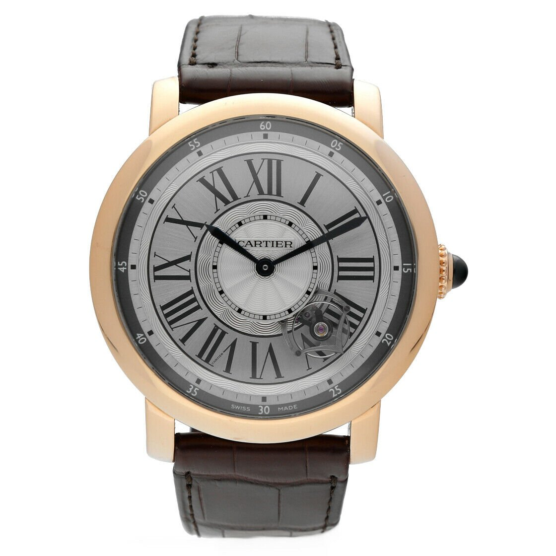 Cartier 3308 W1556205 Rotonde Astrotourbillon 18k Rose Gold Limited Mens Watch 124243384081