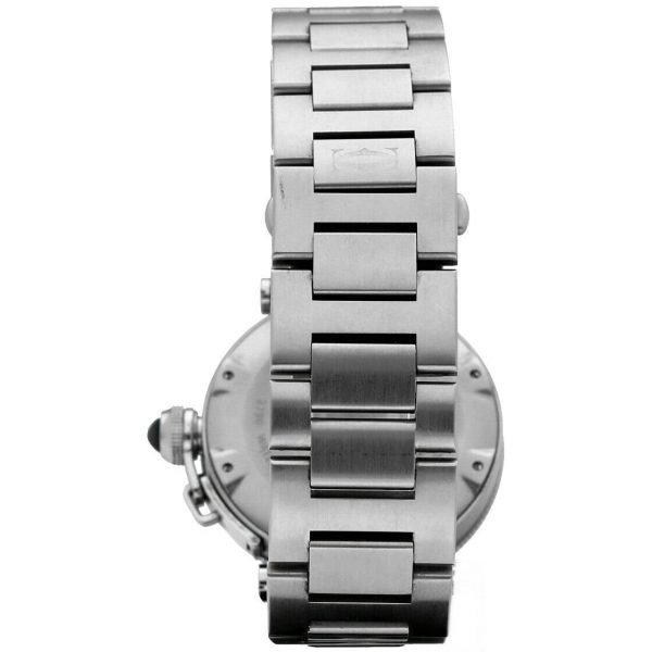 Cartier Pasha Seatimer 2790 Black Dial Stainless Steel Automatic Mens Watch 133366974131 4