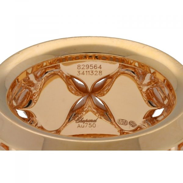 Chopard 829564 5013 Imperiale 18k Rose Gold 750 Diamonds Womens Ring Size 75 114622501651 5