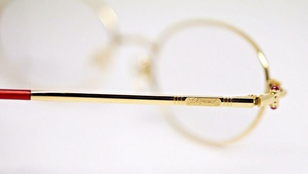Chopard C034 24 6060 23KT GP Classic Optic Gold Frame Eyewear Eyeglasses 133022064381 6