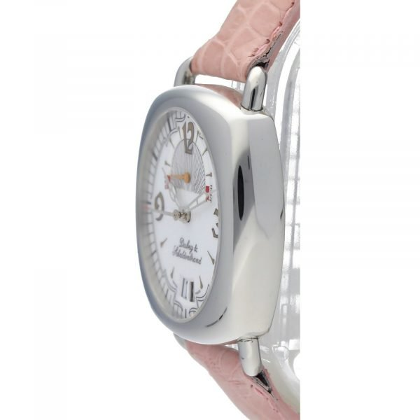 DubeySchaldenbrand Caprice 03 Steel Leather Limited Automatic Womens Watch 133611630101 3