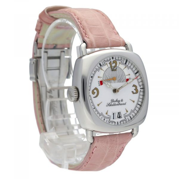 DubeySchaldenbrand Caprice 03 Steel Leather Limited Automatic Womens Watch 133611630101 5