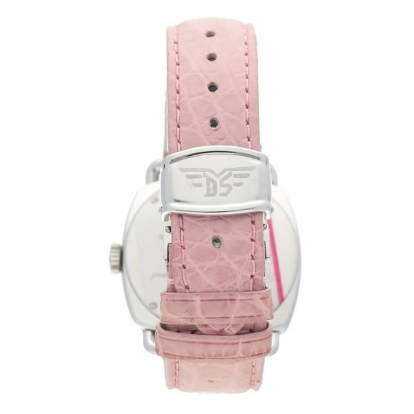 DubeySchaldenbrand Caprice 03 Steel Leather Limited Automatic Womens Watch 133611630101 6