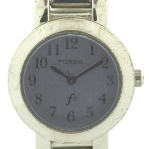 Fossil ES 9001 Purple Dial Stainless Steel Quartz 30M Dress Womens Watch 131609727921