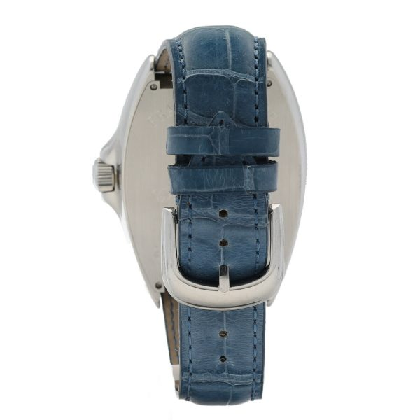Franck Muller 9080 ST DT MAR Mariner Blue Leather Automatic Wrist Watch 114837941241 7