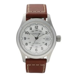 Hamilton-H70455553-Khaki-Military-Steel-38mm-Leather-Automatic-Wrist-Watch-133703453141